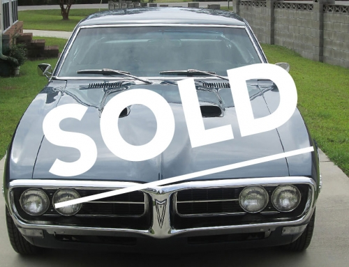 PONTIAC FIREBIRD 1968 – SOLD